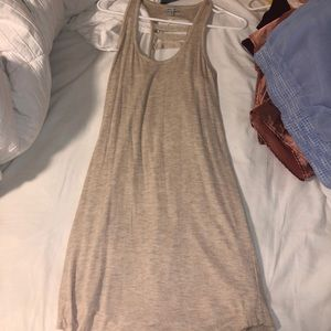 Tan dress from Naked Zebra